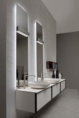 Luci led specchio lucente Antonio Lupi Design