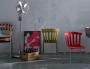 Sedie colorate design Cattelan Italia