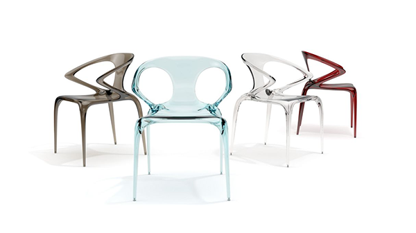 Sedie moderne Colorate design Roche Bobois