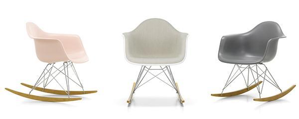 Sedie plastica design Charles Eames by Vitra