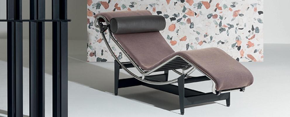 Sedia chaise longue lc4 cassina design