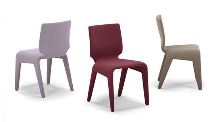 Sedie particolari colorate design Roche Bobois