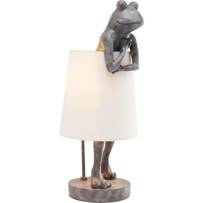 Lampada da tavolo Animal Frog grigio KARE DESIGN