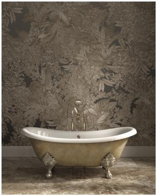 La vasca da bagno barocca di Devon&Devon