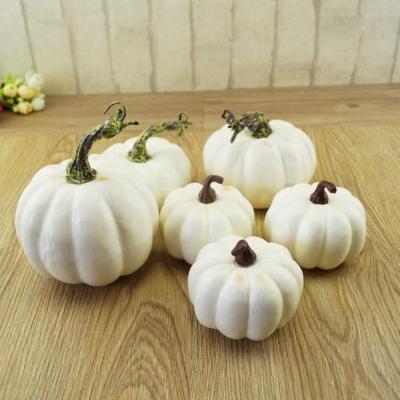 Zucche bianche decorative