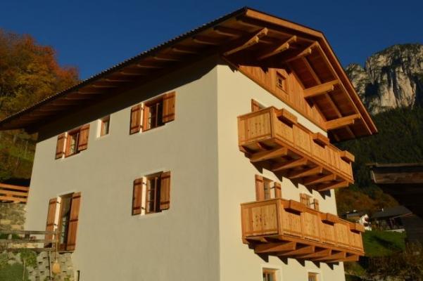 Isolamento termico casa in montagna - Isobell