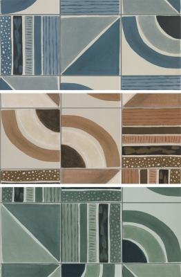 Gres porcellanato stile grafico Terra Decor by Sartoria