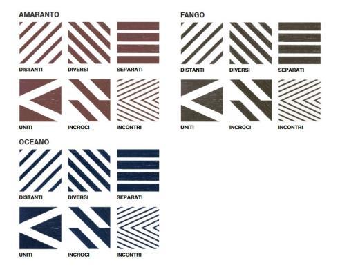 Variazioni della collezione di gres Xo di 14oraitaliana