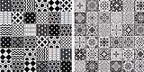 Mosaici di ceramica ispirati alle cementine di Bati Orient