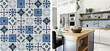 Mosaico ispirato alle cementine Naples Sky di Boxer