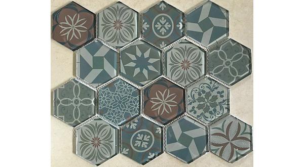 Mosaico esagonale ispirato alle cementine di Foshan Guanyu Group