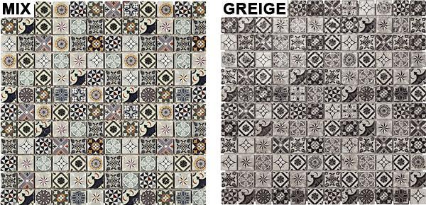 Mosaico ispirato alle cementine Heritage di Boxer