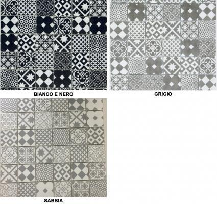 Mosaico Cementina in gres di Bertolani Pavimenti