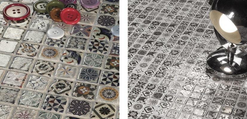 Mosaico ispirato alle cementine Heritage by Boxer