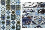 Mosaico ispirato alle maioliche Venice Multicolor di Boxer