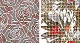 Rivestimenti a mosaico in resina Flowers di Gemanco Design