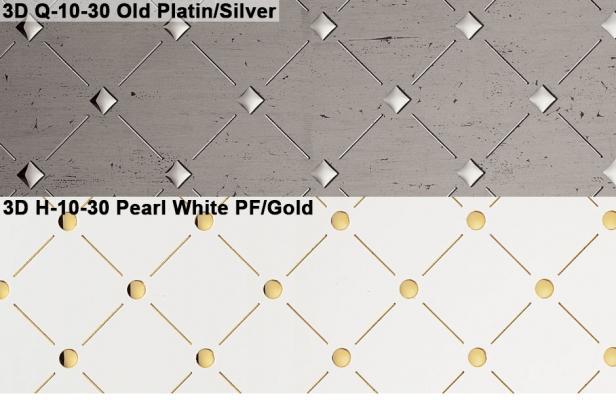 Rivestimento plastico Punch Line di Sibu Design