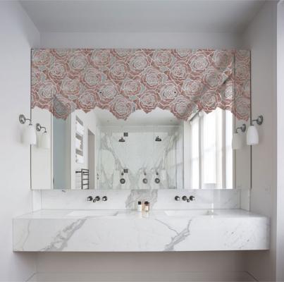 Mosaico in resina con motivi floreali di Gemanco Design