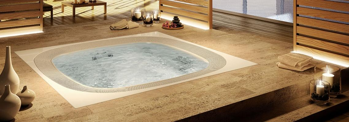 Minipiscina interna Jacuzzi Enjoy base
