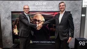 Collaborazione Samsung e CHILI: nasce il primo servizio streaming in 8K