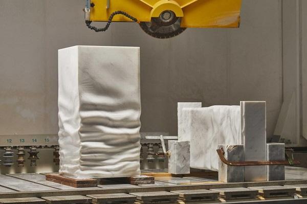 Lavabo Ossimoro in marmo lavorato, antoniolupi