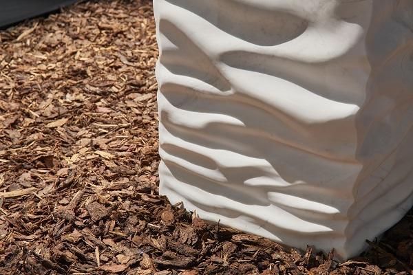 Lavabo in marmo Ossimoro di antoniolupi, particolare