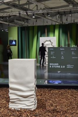 Ossimoro, il lavabo-prototipo in marmo di antoniolupi