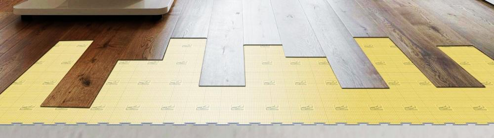 Tappetino isolante sottoparquet - Onlywood