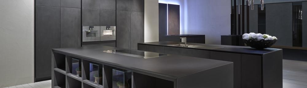 Piano cucina in pietra sinterizzata - Dekton
