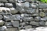 Muro a secco in pietra arenaria - Fumagalli