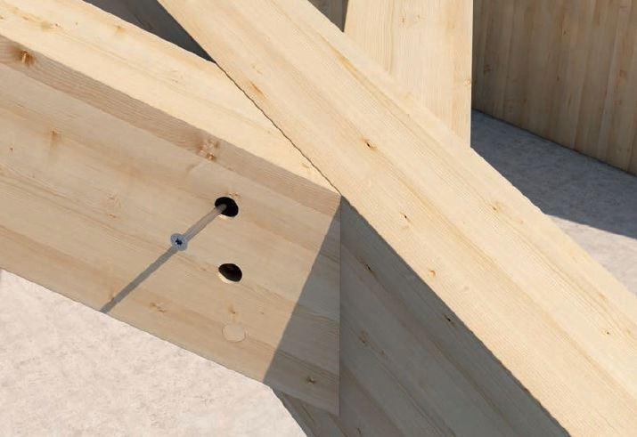 Fissaggio del legno - sistemi Rothoblaas