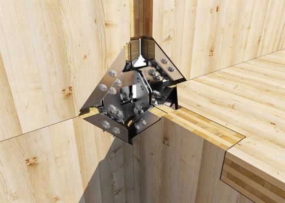 Fissaggio legno - sistema X-RAD Rothoblaas