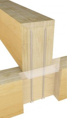 Fissaggio legno - connettore VGS - Rothoblaas