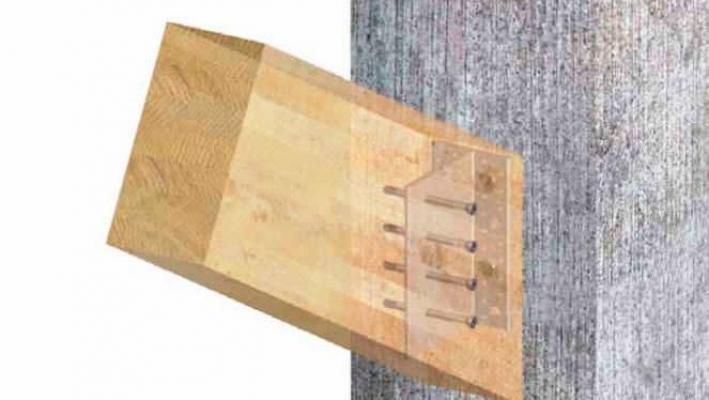 Connettore per struttura in legno Alumidi Rothoblaas