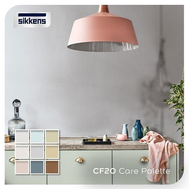 Pittura sanificante per ambienti tonalità di colori - Sikkens
