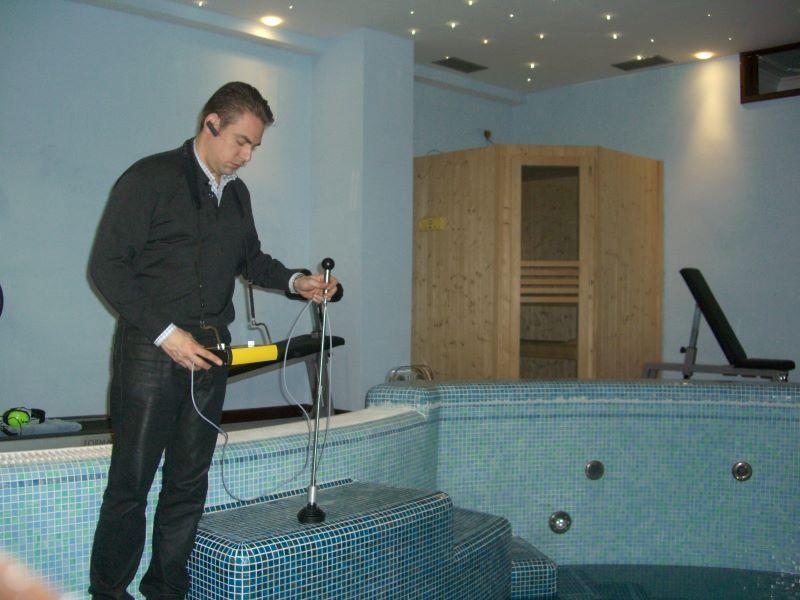 Strumentazione per indagine perdita acqua - Studio Ingegneria Randazzo