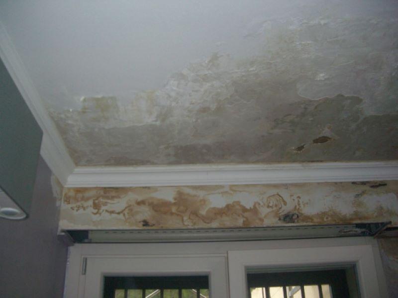 Umidità soffitto, infiltrazione acqua - Studio Ingegneria Randazzo