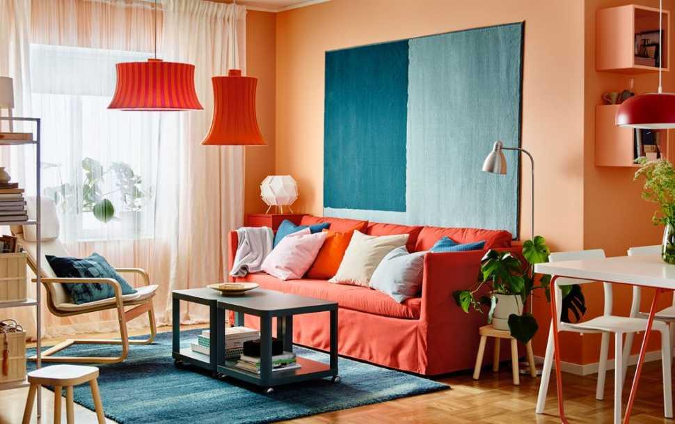 Pantone colori Autunno Inverno 2019-2020 - IKEA divano Brathult
