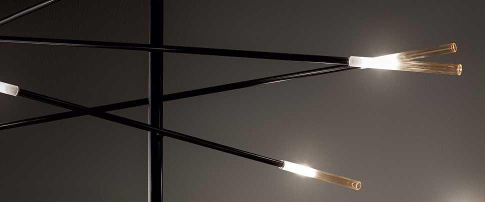 Lampada sospesa Crossroad di Bonaldo