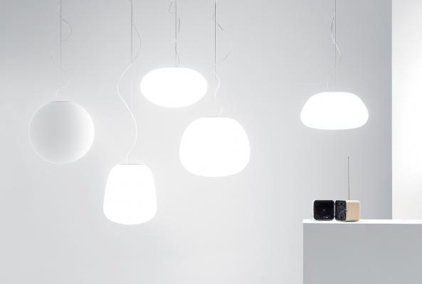Lumi 07, lampada sospesa di Fabbian