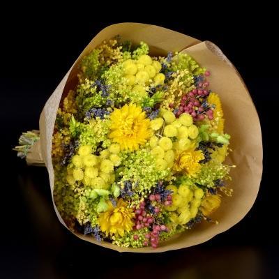 Mazzo fiori essiccati La Sempreviva su Amazon