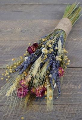 Bouquet lavanda selvatica e fiori secchi su Etsy