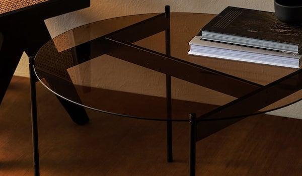 Tavolino rotondo in vetro - Design e foto by Zara Home