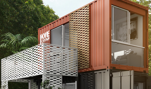 Home Container: casa tower - Design e foto by Sogese