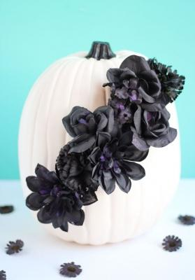 Festa Halloween: centrotavola con zucca, da designimprovised.com