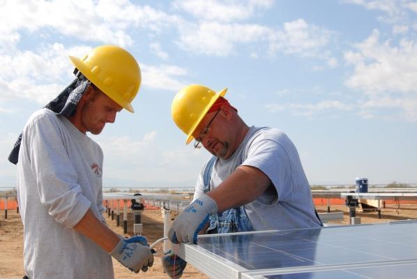 Preparazione e installazione del pannello solare