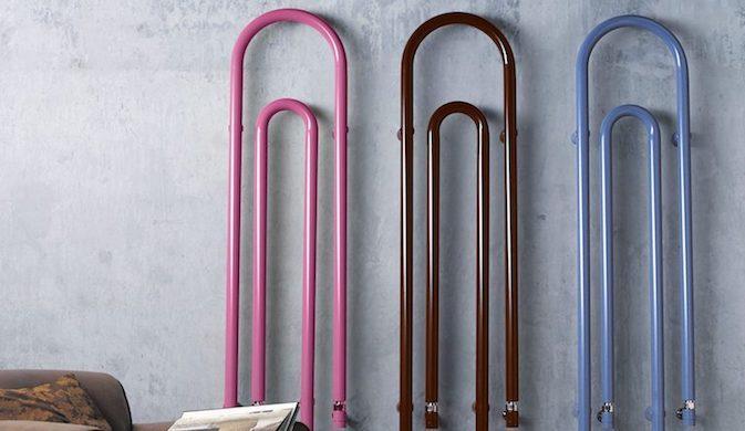 Termoarredo Graffe colorato - Design e foto by Scirocco H