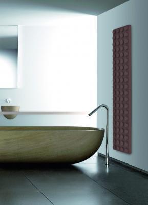 Termoarredo Brick zona bagno - Design Marco Baxadonne, foto Scirocco H