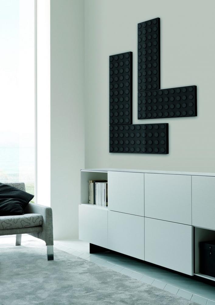 Termoarredo Brick zona living - Design Marco Baxadonne, foto Scirocco H