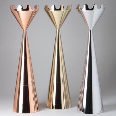 Appendiabiti Scacco Matto, finitura metallizzata - Design e foto Servettocose